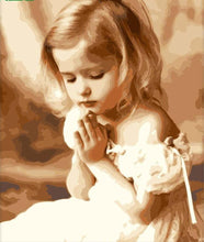 Load image into Gallery viewer, Adorable Little Girl Praying