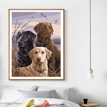 Load image into Gallery viewer, A Pack of Dogs - DIY Painting