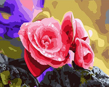 Load image into Gallery viewer, Adorable rose Petals Painting