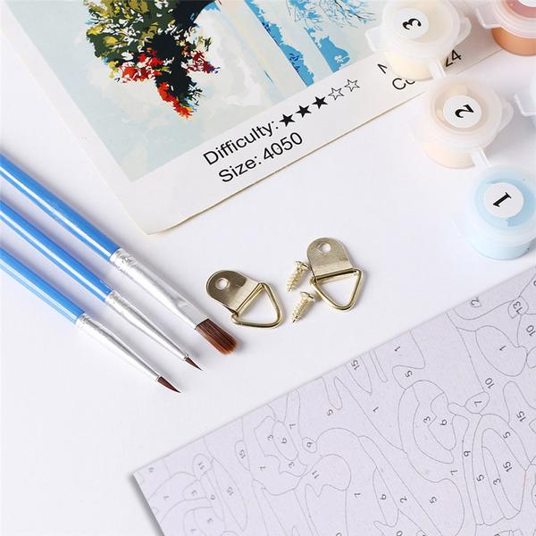 Paint By Numbers Canvas