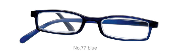 Fertiglesebrille No77  NEWS OPTIC Farbe blau