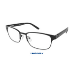 Lesebrille Buddy I need you schwarz