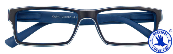Lesebrille Capri I NEED YOU blau