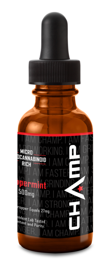 CHAMP ™ CBD Oil Peppermint Tincture - 500mg