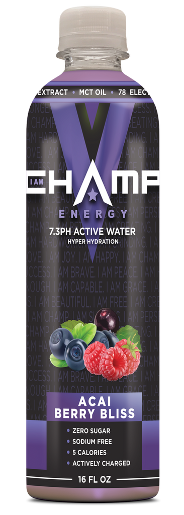 CHAMP ™ Acai Blueberry Bliss Actively Charged - 12 Pack