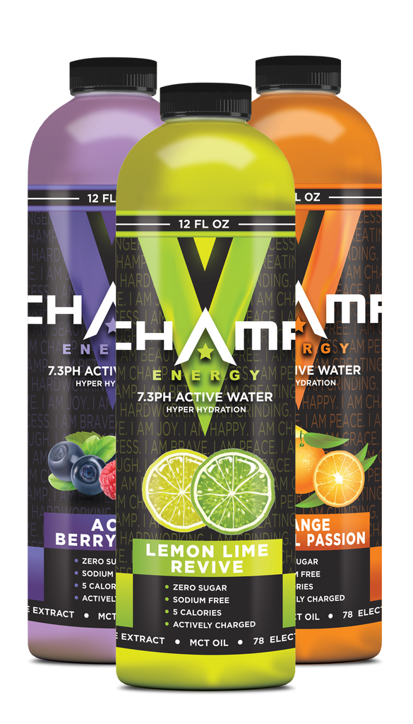CHAMP ™ Active Water Mix & Match - 12 Pack