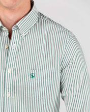 Load image into Gallery viewer, Vintage Yale Oxford Shirt - Green