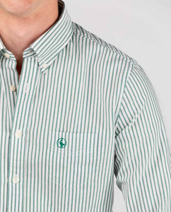 Vintage Yale Oxford Shirt - Green
