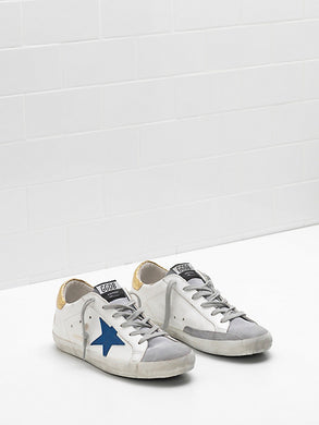 Superstar Sneaker - White/Gold
