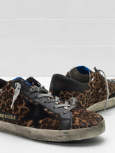Load image into Gallery viewer, Superstar Sneaker - Leopard Horsey