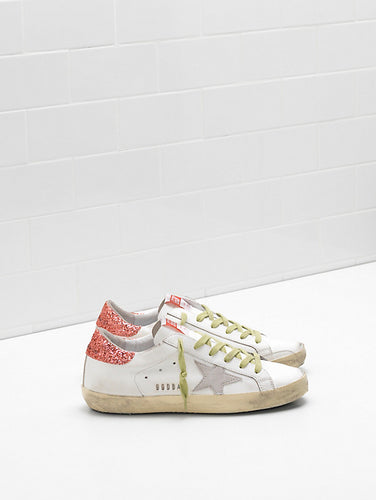 Superstar Sneaker - White/Tomato
