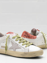 Load image into Gallery viewer, Superstar Sneaker - White/Tomato