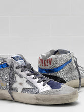 Load image into Gallery viewer, Mid-Star Sneaker - Silver/Blue