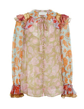 Load image into Gallery viewer, The Lovestruck Ruffle Shirt - Mixed Roses