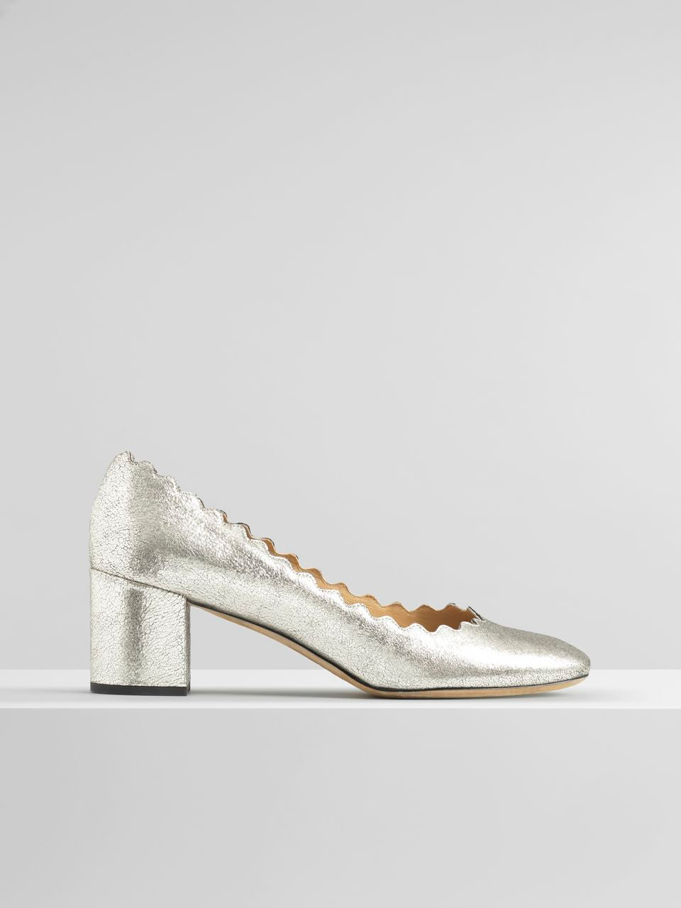 Lauren Pump - Grey Glitter