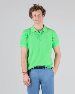 Polo Pique Short Sleeve Shirt - Green