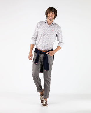 5-pocket Pant - Gray