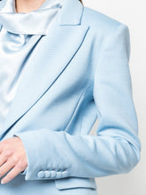 Load image into Gallery viewer, Double Face Wool Blazer - Blue