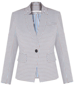 Farley Dickey Jacket - White Multi