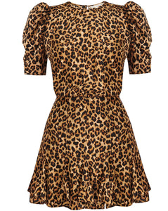 Lila Dress - Leopard