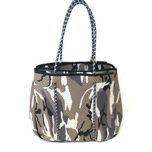 Load image into Gallery viewer, Sporty Spice Neoprene Tote - Brown Camo