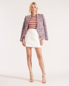 Theron Jacket - Multi Tweed