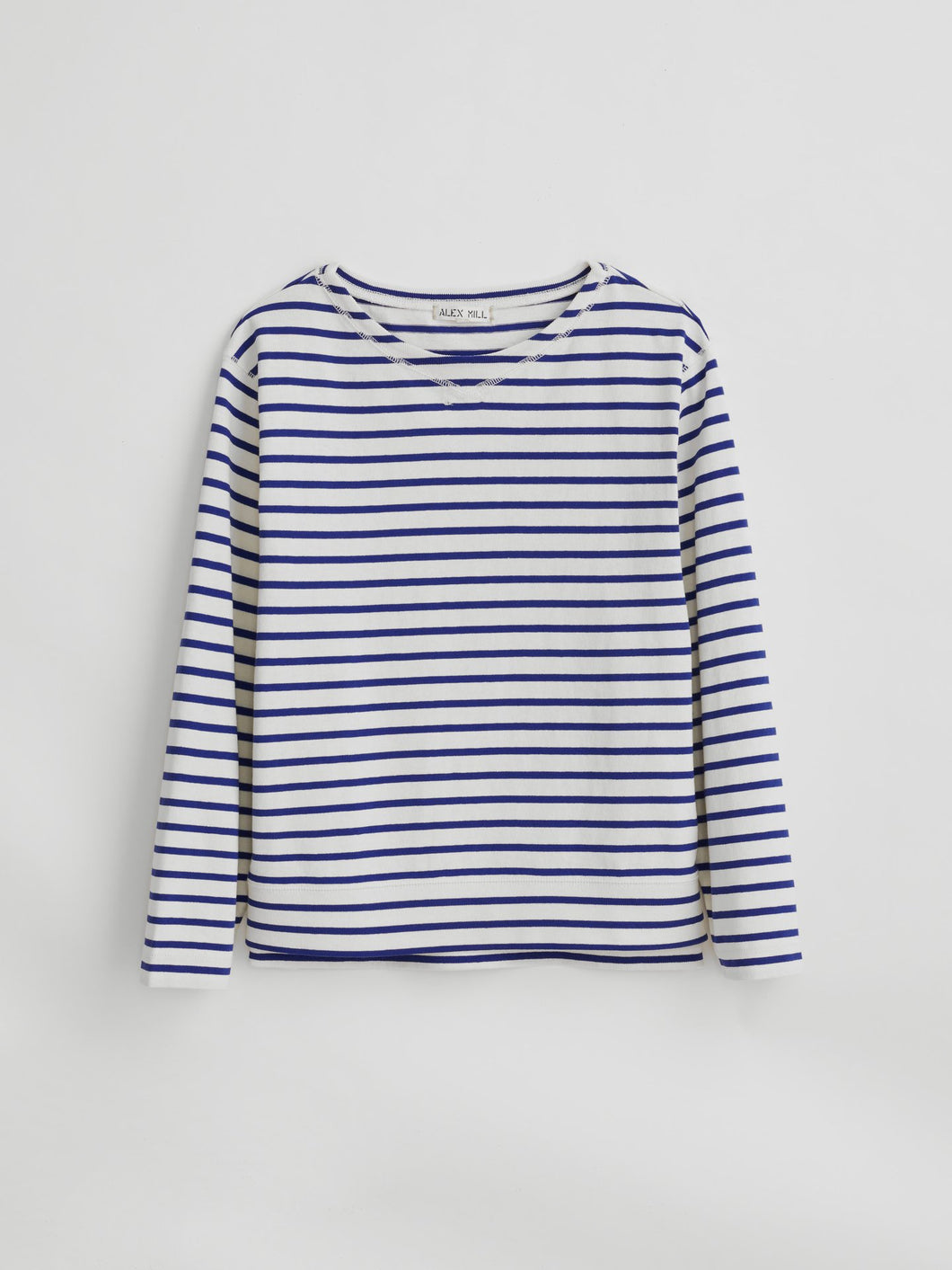 Lakeside Striped Tee - Natural/Blue