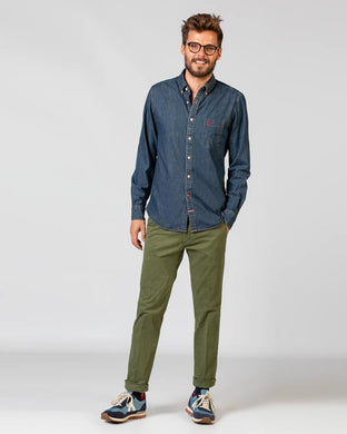 Chino Trousers - Green