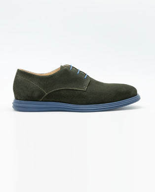 Sportive Desert Shoe - Green/Blue