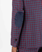 Load image into Gallery viewer, Four Tattersall Bicolor Blazer - Navy/Red