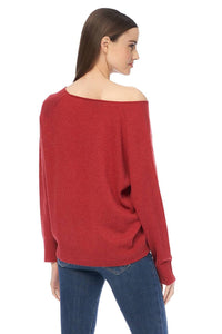Kacey Sweater - Garnet