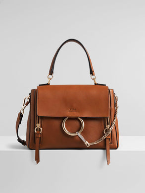 Small Faye Handbag - Tan