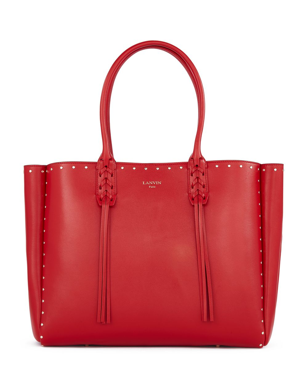 Small Stud Shopper - Red
