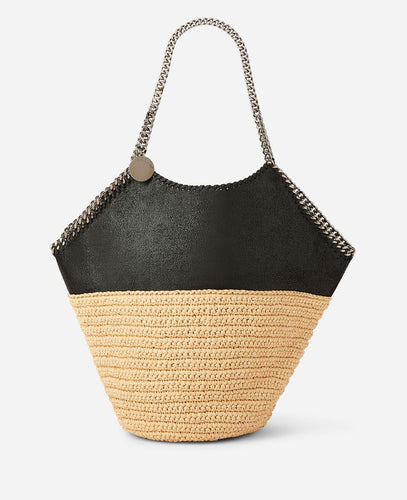 Falabella Raffia Large Tote - More Colors Available