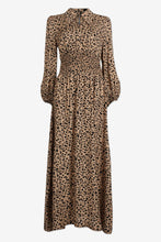 Load image into Gallery viewer, Amber Dress - Beige Leopard