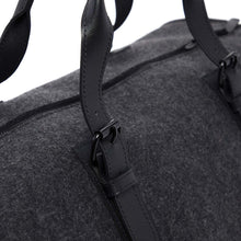 Load image into Gallery viewer, Benton Duffle - Charcoal/Black