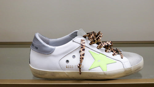 Superstar Sneaker - White/Leopard/Ice