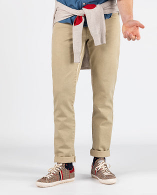 5 Pocket Pant - Beige