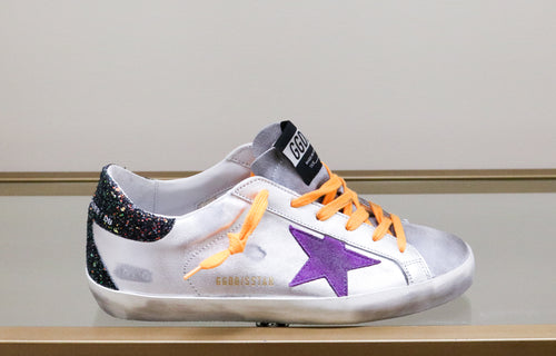 Superstar Sneaker - Silver/Lilac