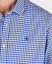 Load image into Gallery viewer, Pin Point Vichy Button Down - Navy