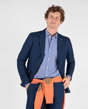 Load image into Gallery viewer, Combined Panama Blazer - Azul