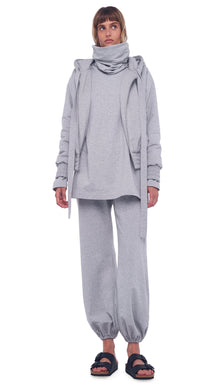 BF Puff Jogger Sweatpant - Heather Grey