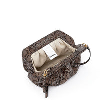 Load image into Gallery viewer, Bios Vegan Handbag - Dark Python