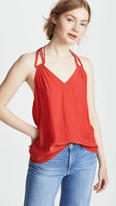 Cecelia Top - Spring Red