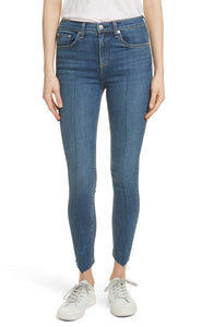 High Waist Ankle Skinny Jeans - Manson