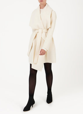 Blanket Coat - Off White
