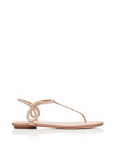 Load image into Gallery viewer, Almost Bare Crystal Sandals - Powder Pink