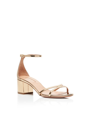Purist Sandal 50mm - Soft Gold