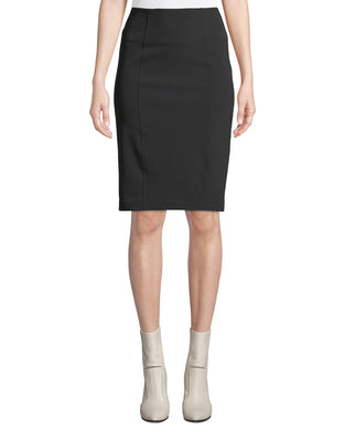 Scuba Pencil Skirt - Black