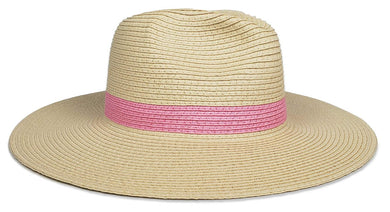 Primary Continental Hat - Natural/Pink